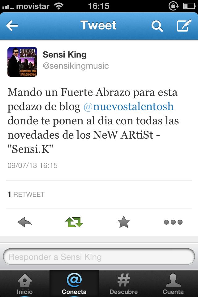 SENSI KING NOS LANZA UN S/O!